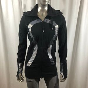 Lululemon Black Scuba Fit Jacket Size 4